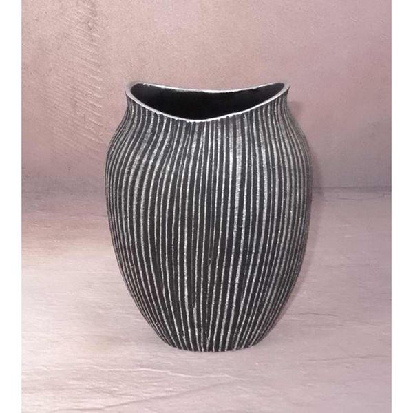 Picture of Wide Mouth Stripe Vase
