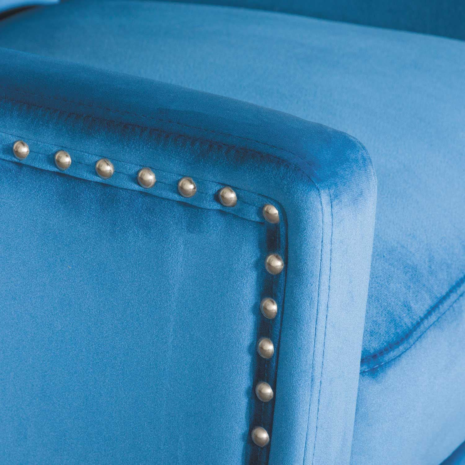 Picture of Claire Blue Accent Chair