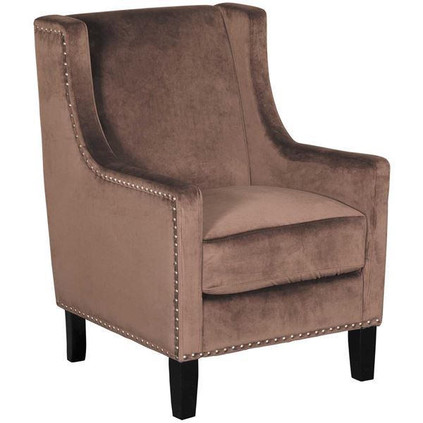 Picture of Claire Brown Accent Chair