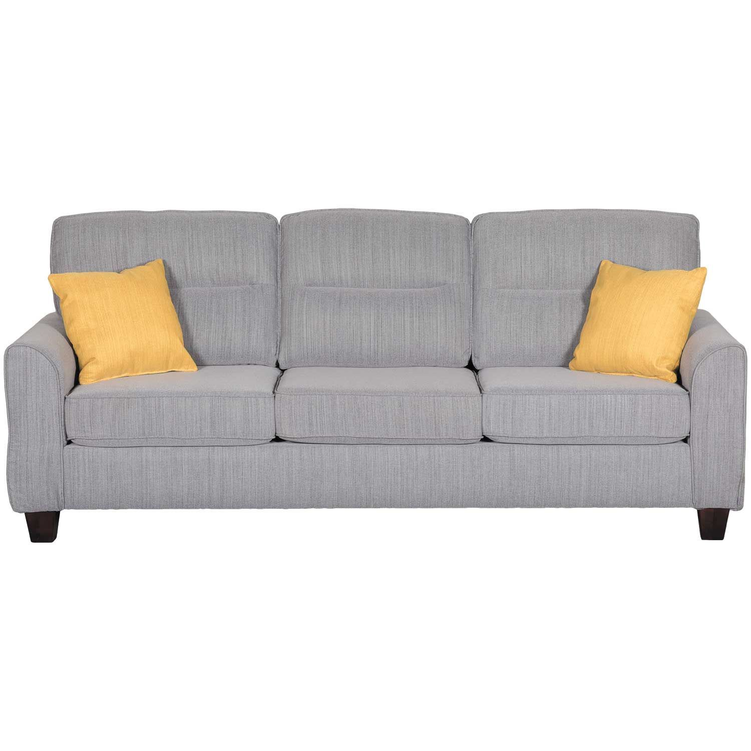 Magnificent Millennial Gray Sofa Kia Mlen815 Grs 803 Aico Amini Bralicious Painted Fabric Chair Ideas Braliciousco