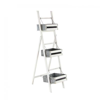 Picture of 3 Tier Metal and Wood Storage