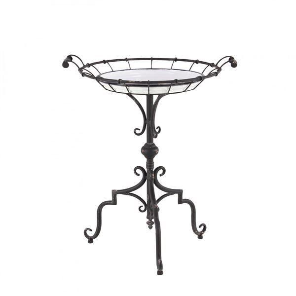 Picture of Round Iron Accent Table