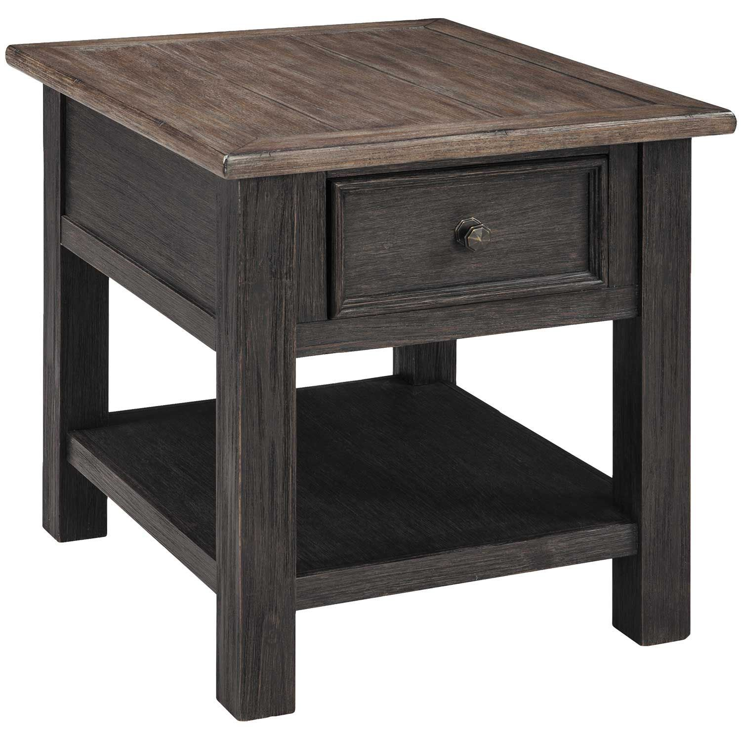 Tyler Creek Rectangular End Table T736 3 Ashley Furniture Afw Com