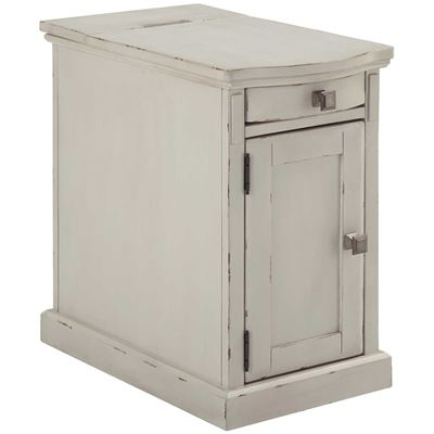 Picture of Laflorn Chairside End Table, White