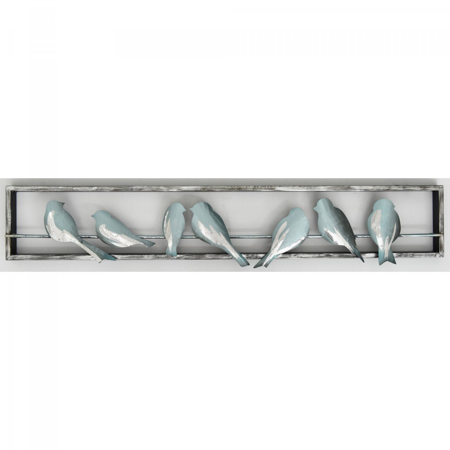 Birds Metal Wall Decor