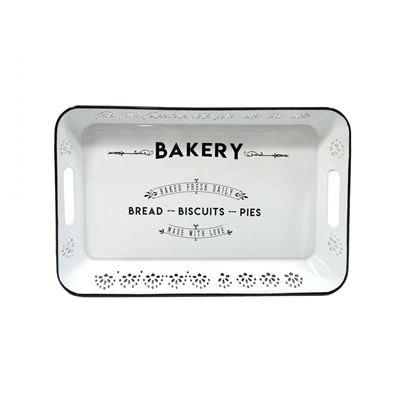 Picture of White Bakery Tray