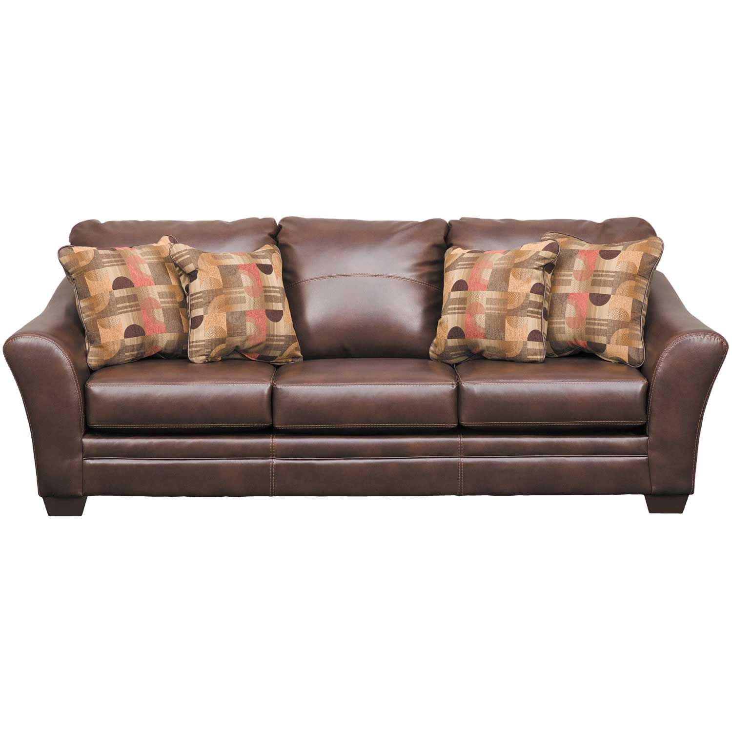 Picture Of Del Rio Bonded Leather Sofa