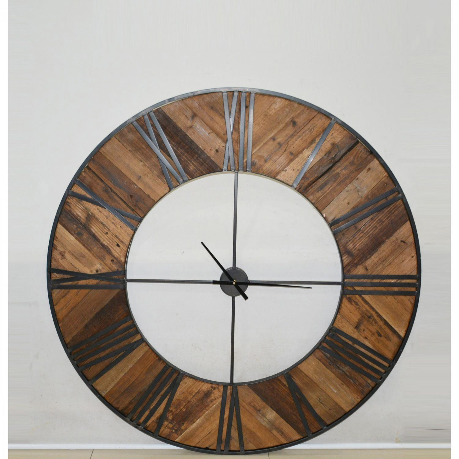 Wood Wall Clock Home Accents Afw