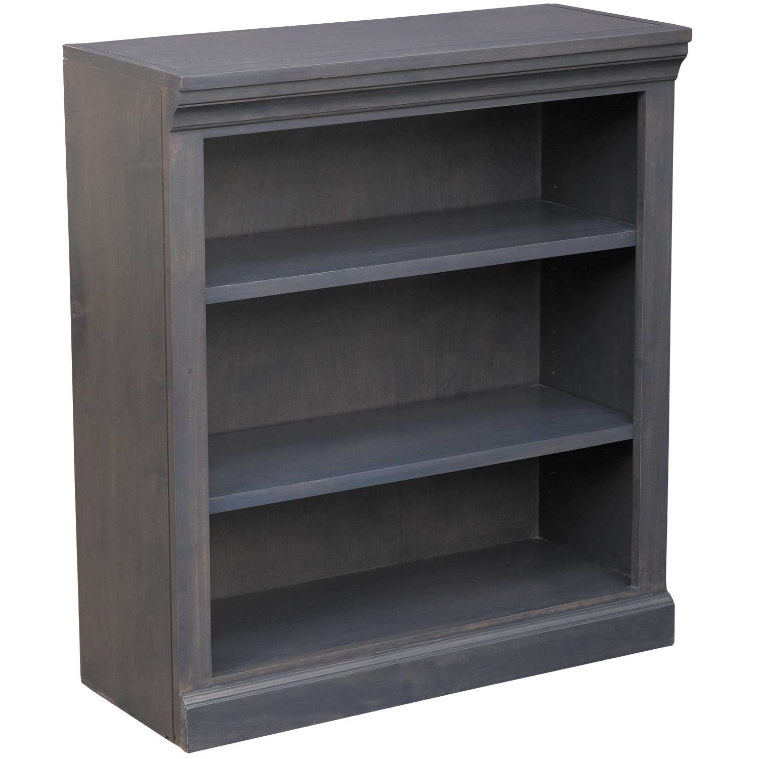 Picture of Platinum Grey Bookcase, 2 Shelf