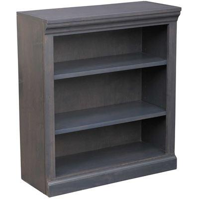 Picture of Platinum Grey Bookcase, 2 Shelf