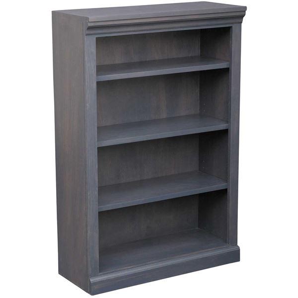 Platinum Grey Bookcase 3 Shelf Jc3248 Plt Afw Com