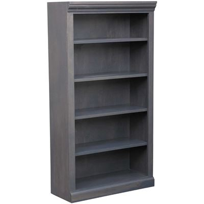 Picture of Platinum Grey Bookcase, 4 Shelf