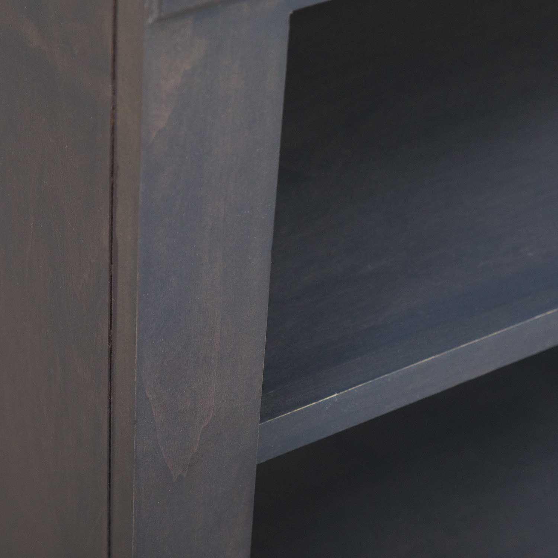 Picture of Platinum Grey Bookcase, 4 Shelf