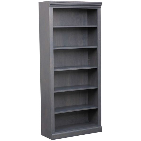 Picture of Platinum Grey Bookcase, 5 Shelf