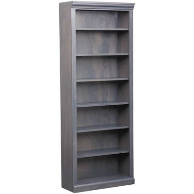 Picture of Platinum Grey Bookcase, 6 Shelf