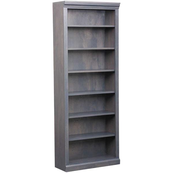 Picture of Platinum Grey Bookcase, 6 Shelf
