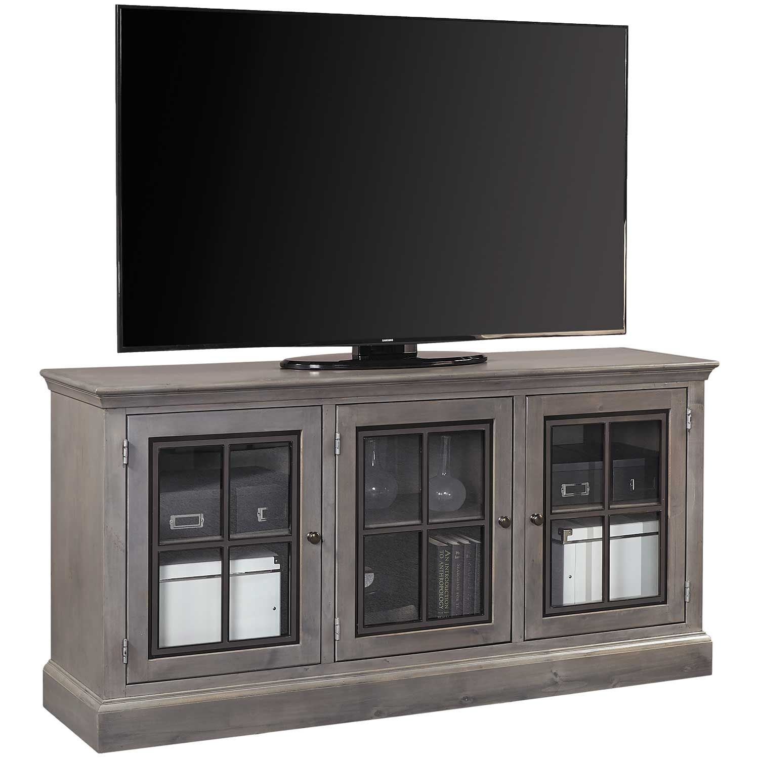 """Picture of Churchill Grey 66"""" Console"""