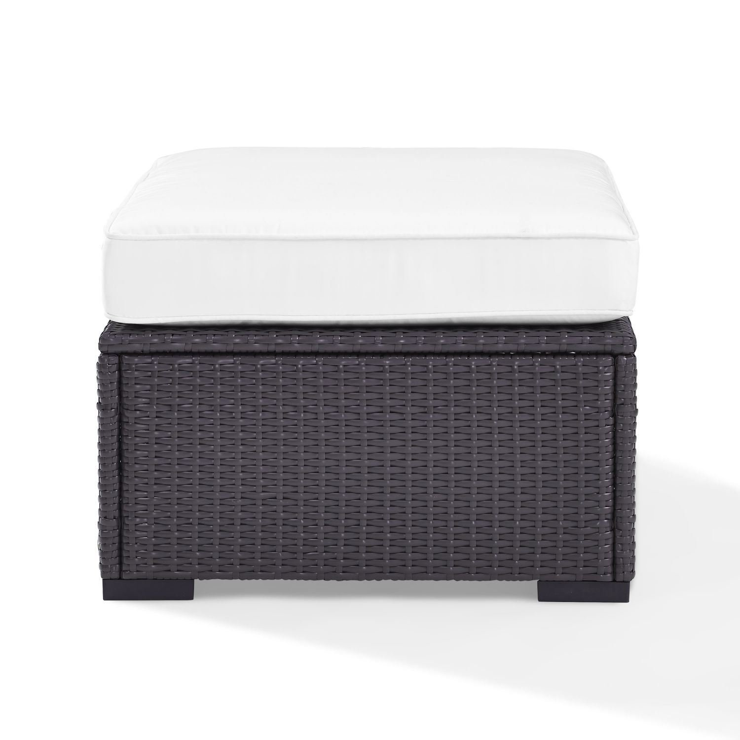 Picture of BISCAYNE OTTOMAN WHITE