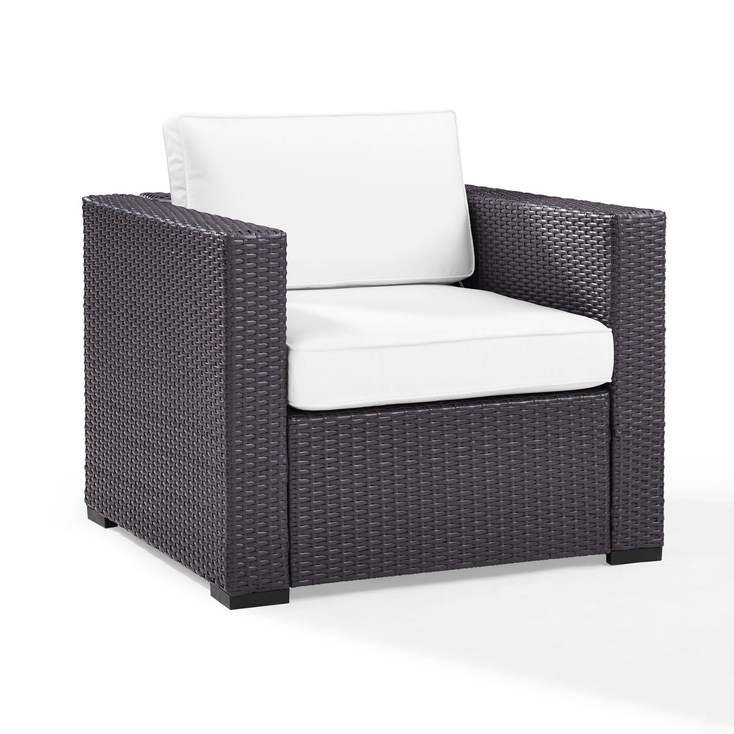 Picture of BISCAYNE ARMCHAIR WHITE
