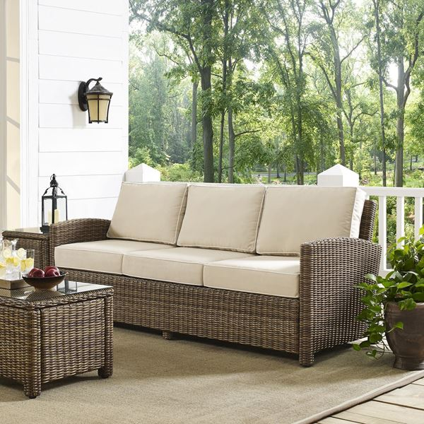 Picture of BRADENTON SOFA WITH SAND CUSHIONS