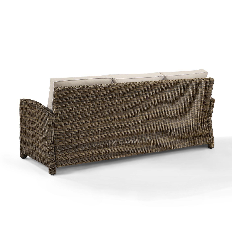 Bradenton Sofa With Sand Cushions Ko70049wb Sa Crosley