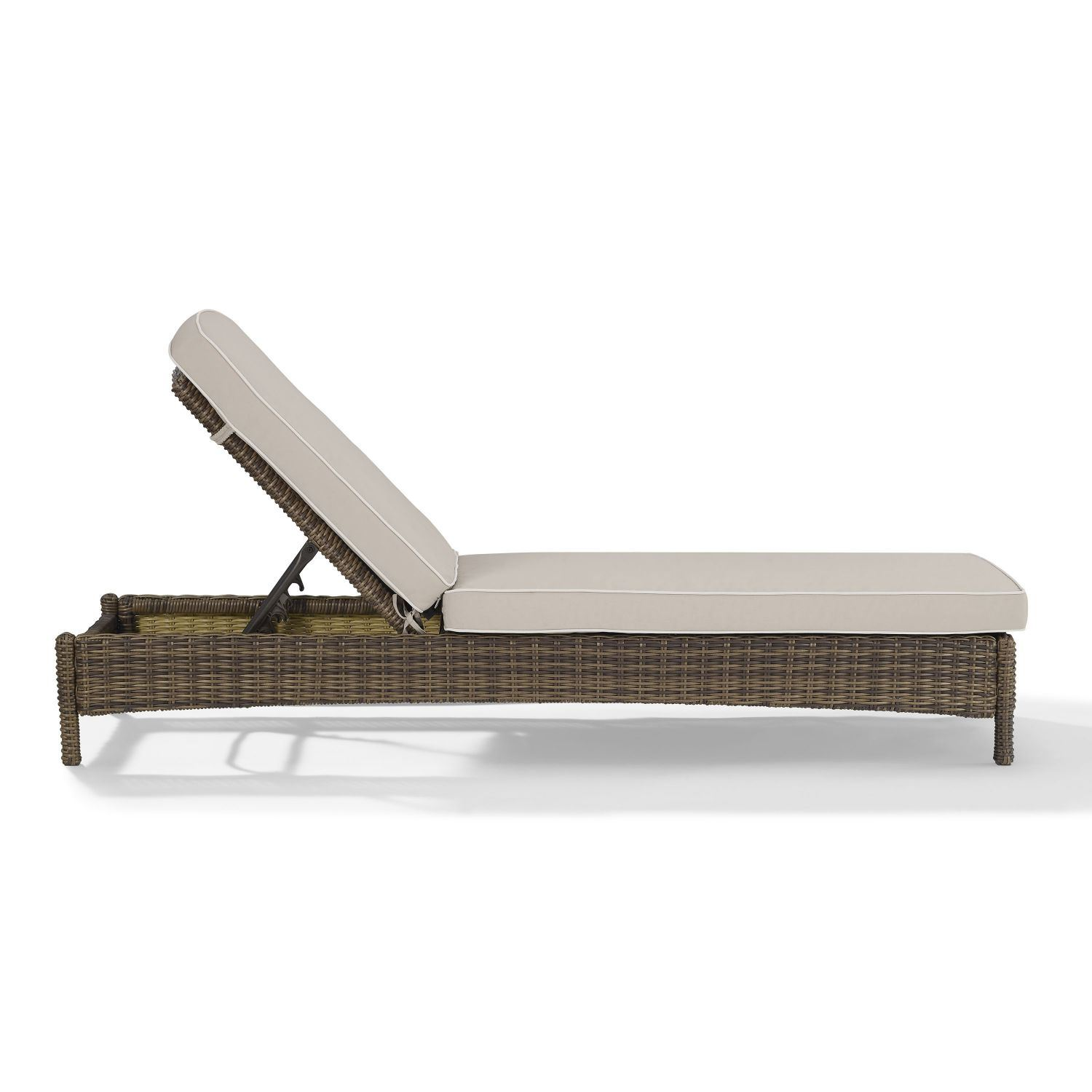 Picture of BRADENTON CHAISE LOUNGE WITH SAND CUSHIONS
