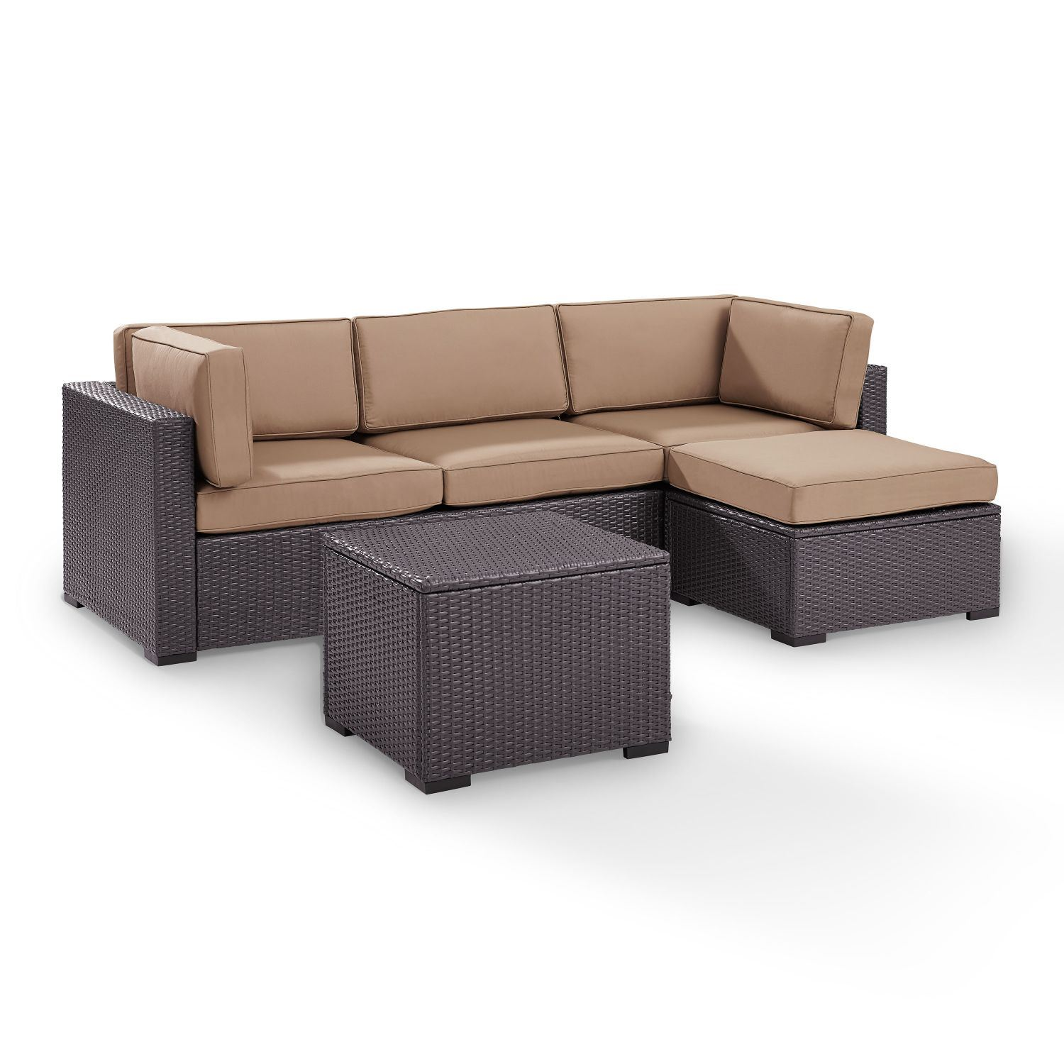 Picture of BISCAYNE SOFA CHAISE MOCHA