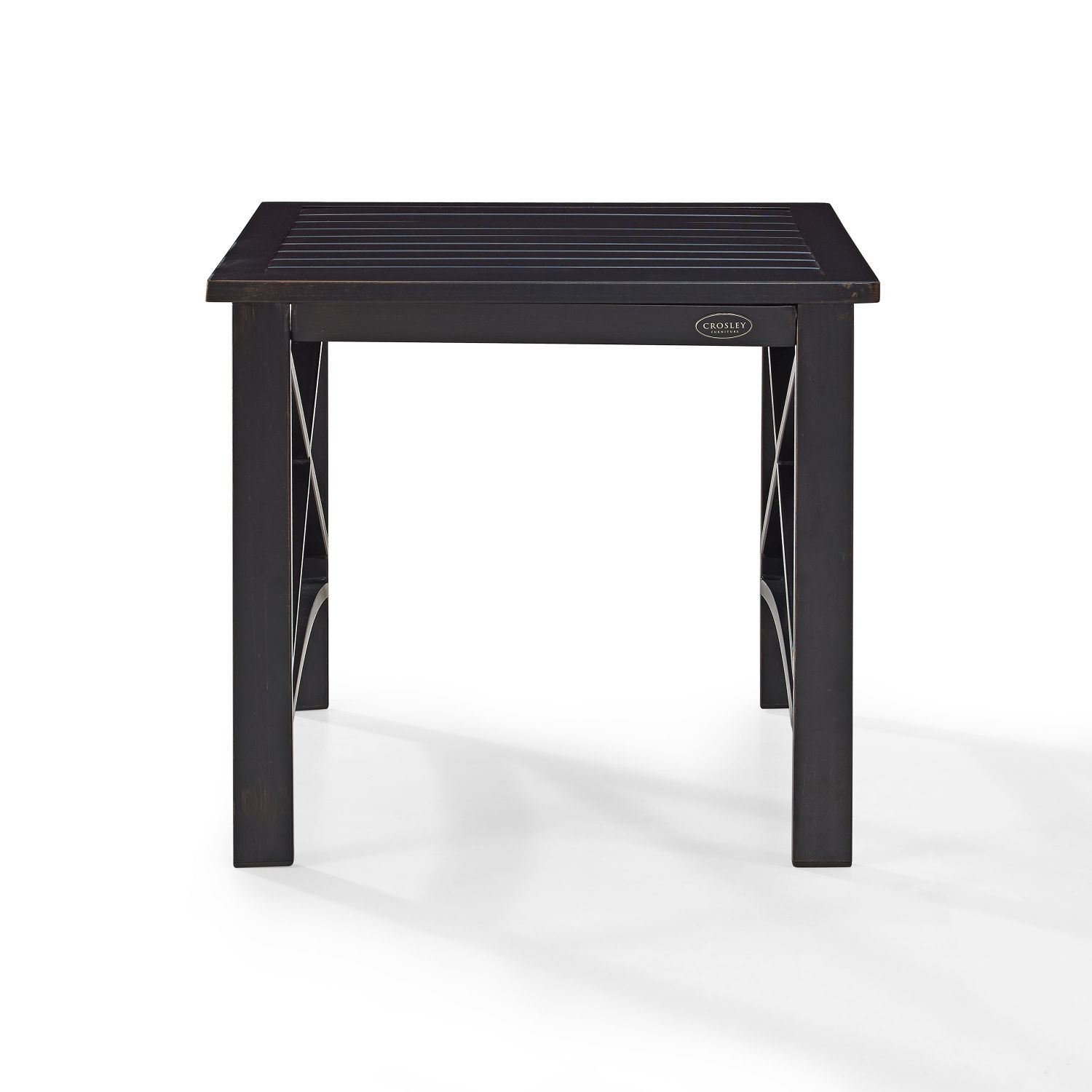 Picture of KAPLAN SIDE TABLE IN OILED BRONZE