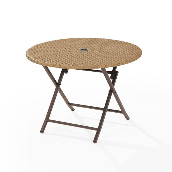 Picture of PALM HARBOR OUTDOOR WICKER FOLDING TABLE