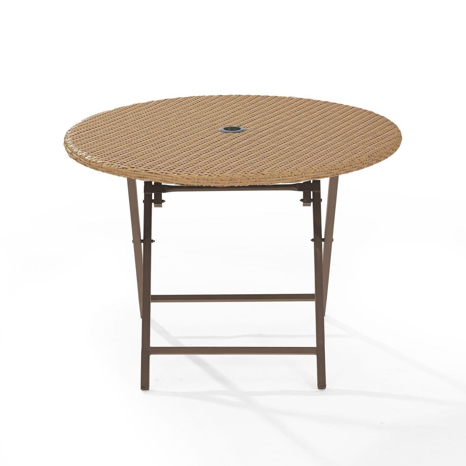 palm harbor outdoor wicker folding table