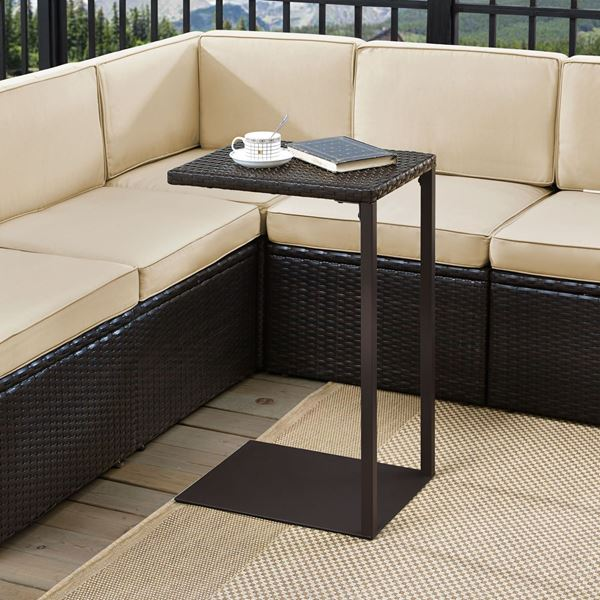 Picture of PALM HARBOR C TABLE IN BROWN