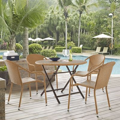 Picture of PALM HARBOR 5 PC CAFÉ DINING SET