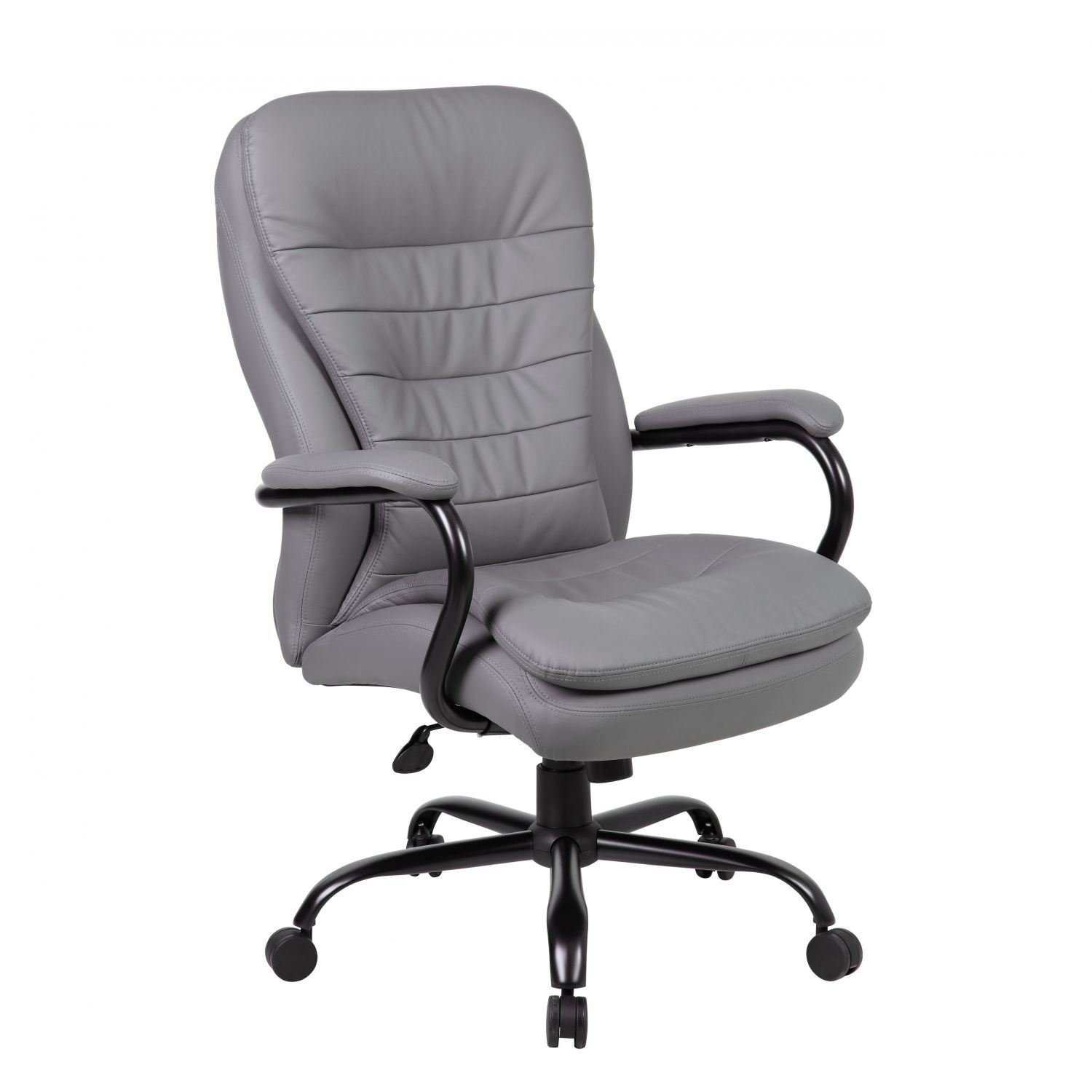 Grey Heavy Duty High Back Office Chair