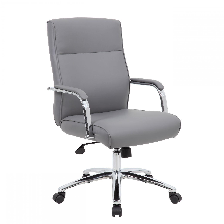 Presidential office chair High Back Grey Modern Executive Office Chair Afw Grey Modern Executive Office Chair Oaf696ccp11 Presidential