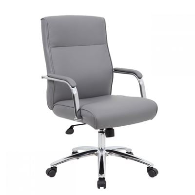 Picture of Grey Modern Executive Office Chair