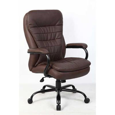 Picture of Heavy Duty Office Chair, Brown