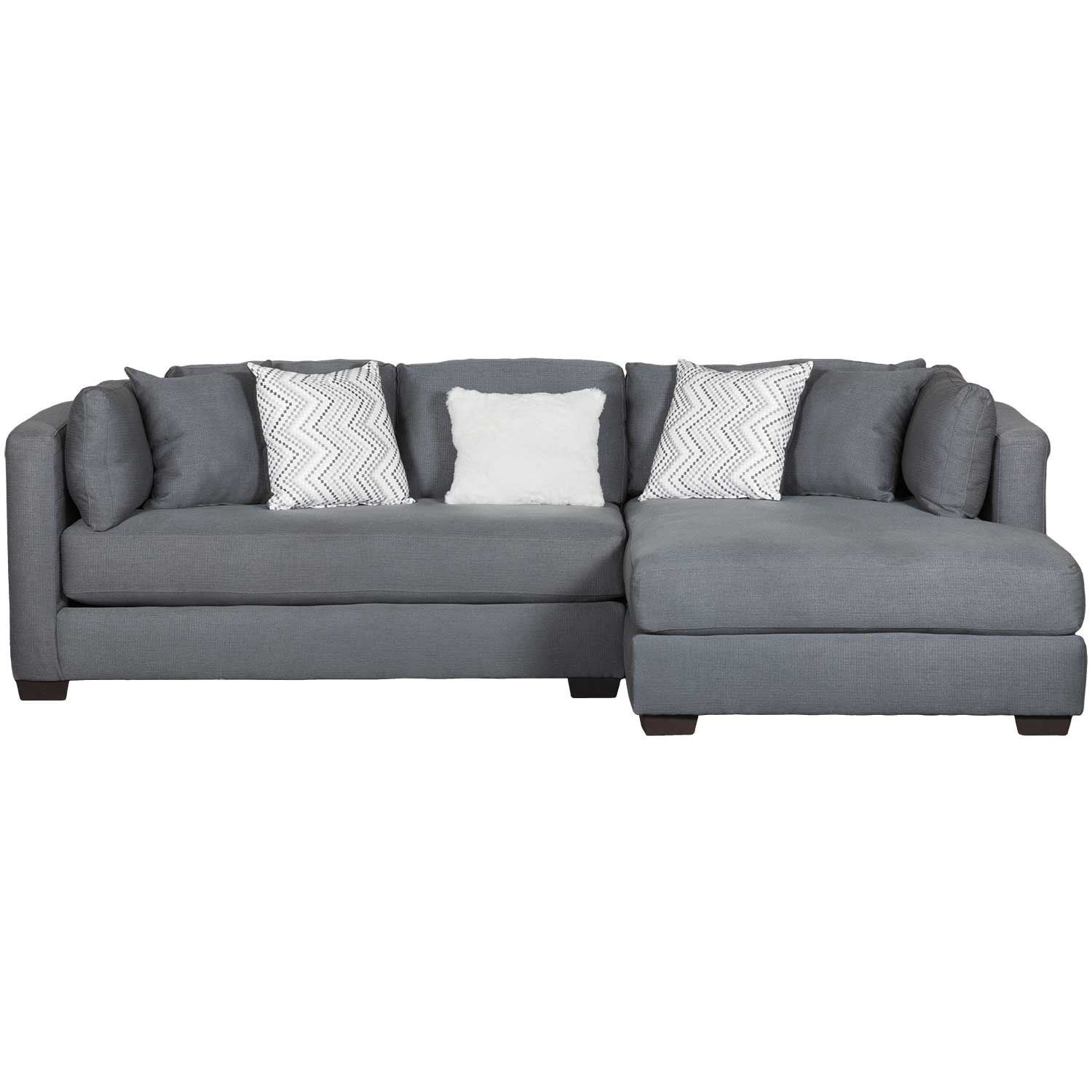 Parker 2 Piece With Raf Chaise Sectional 55105518 American