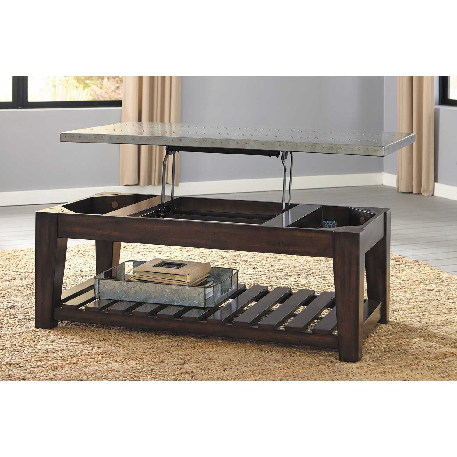 Picture of Bynderman Lift Top Cocktail Table