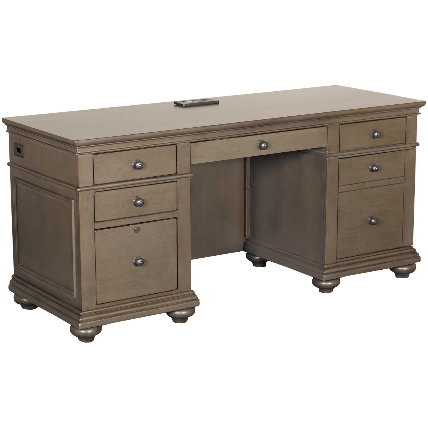 "Picture of Oxford 66"" Credenza Desk"