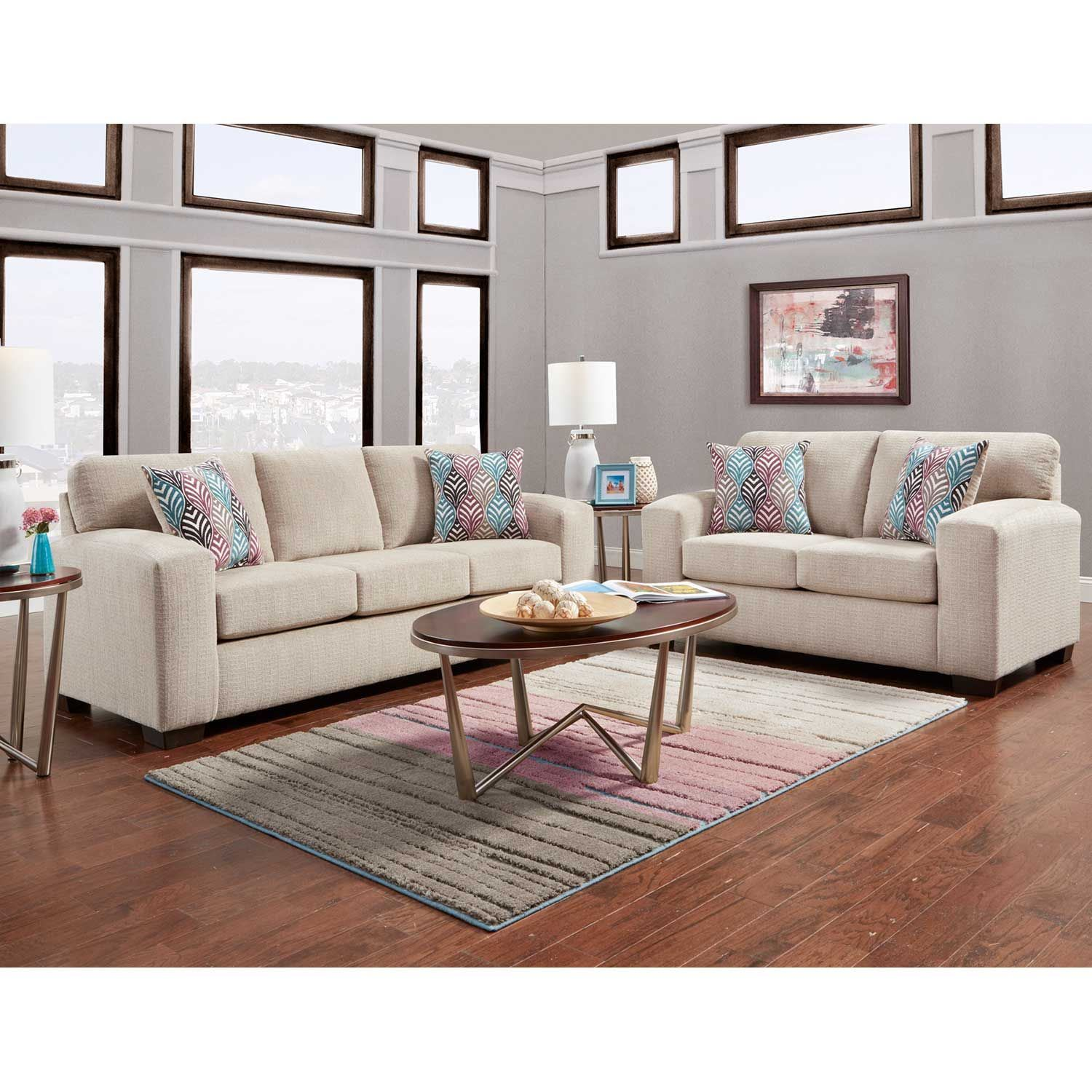 Picture of Charisma Platinum Loveseat