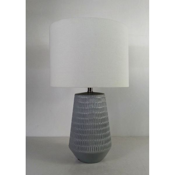 Picture of Grey Contemporary Lamp