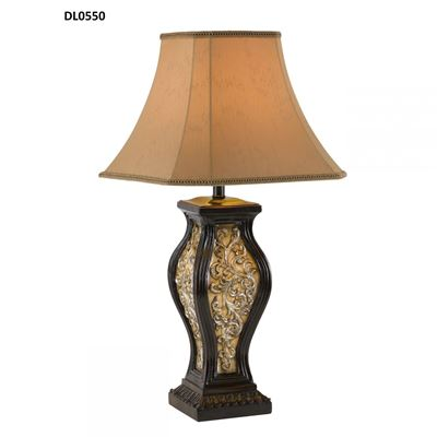 Picture of Traditional Etched Urn Table Lamp