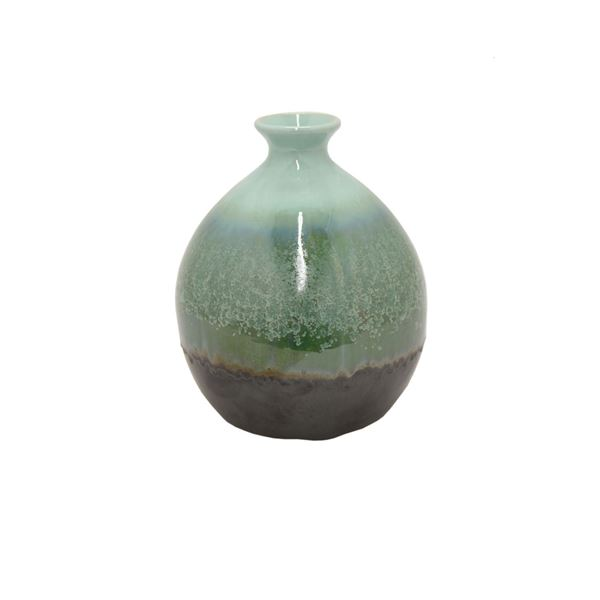 Picture of Blue Green Ceramic Vase