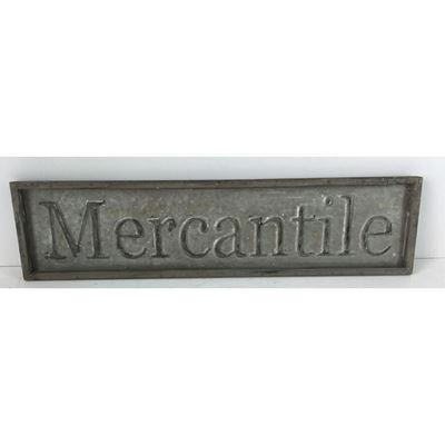 Picture of Metal Mercantile Sign