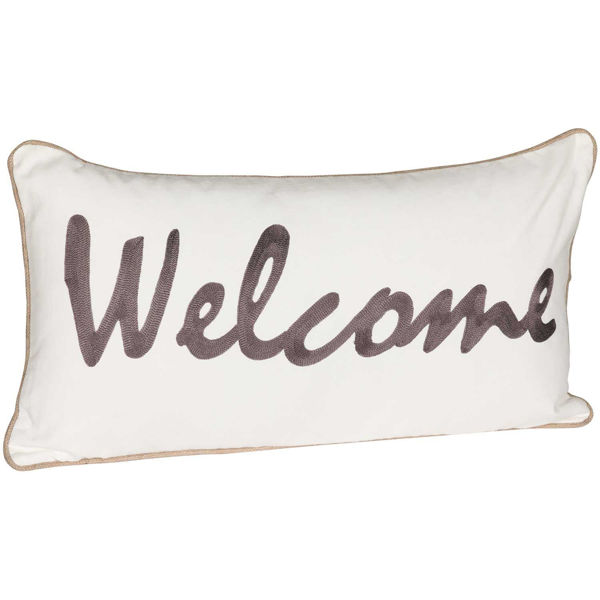Picture of 14x26 Welcome Decorative Pillow *P