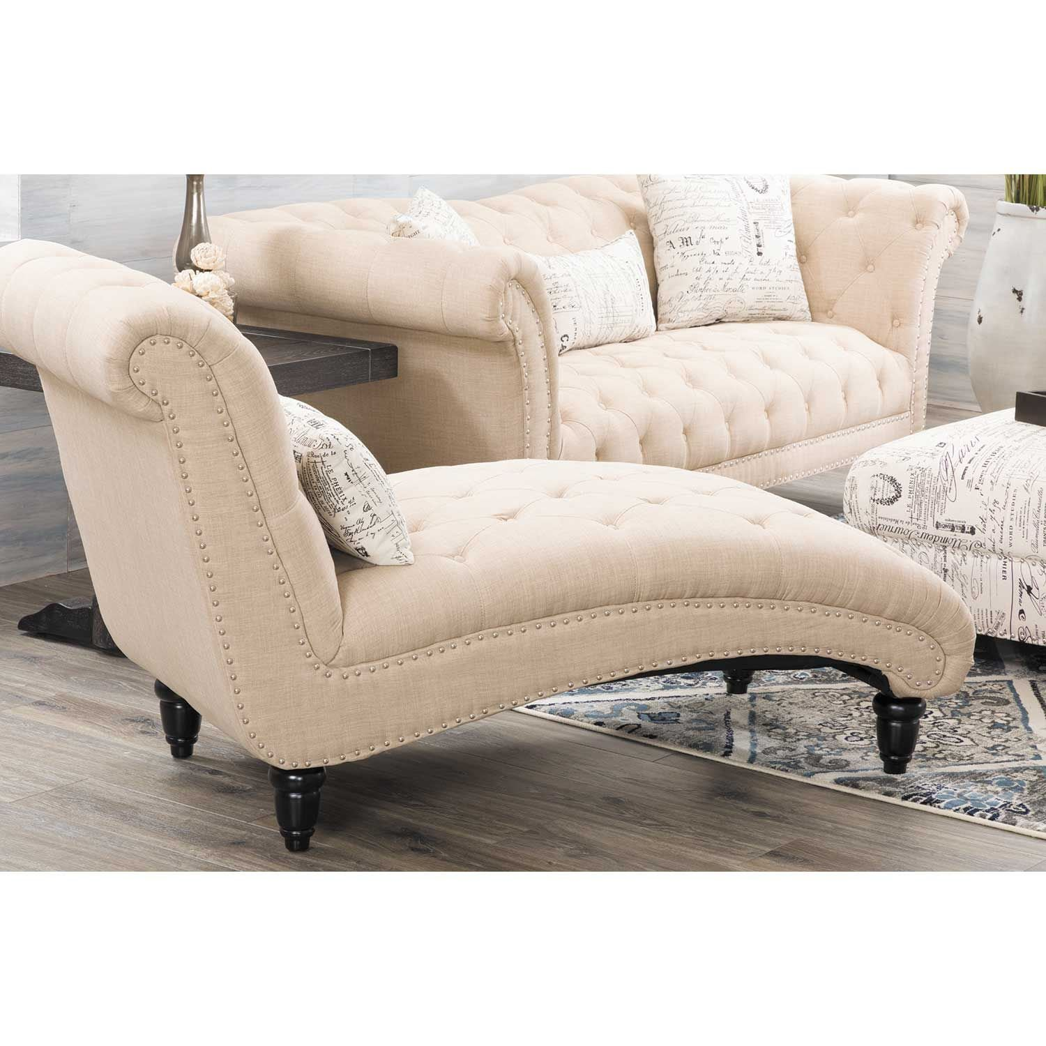 Picture of Audrey Tufted Chaise