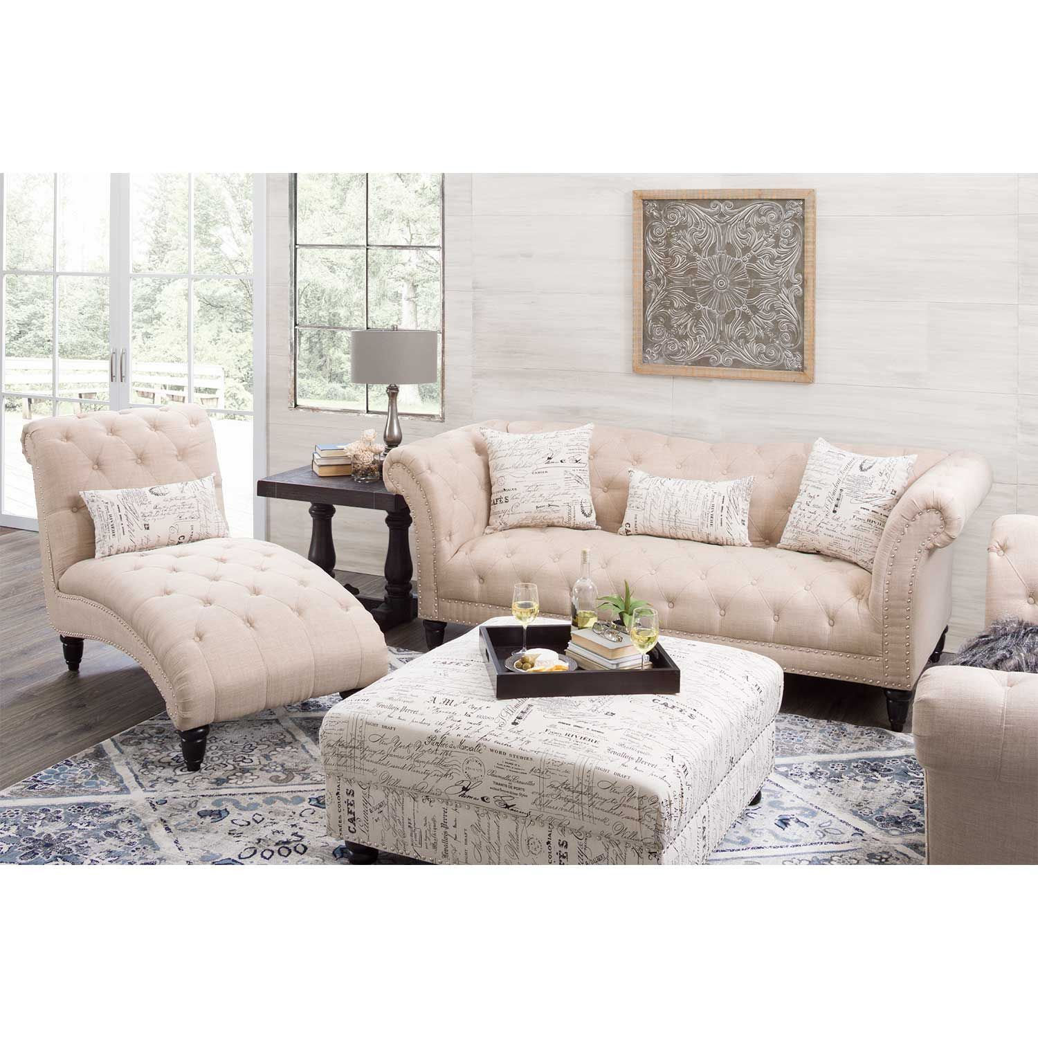 Picture of Audrey Tufted Loveseat