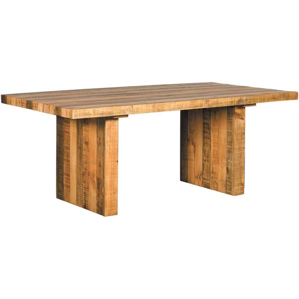 Picture of Valencia Natural Rustic Dining Table