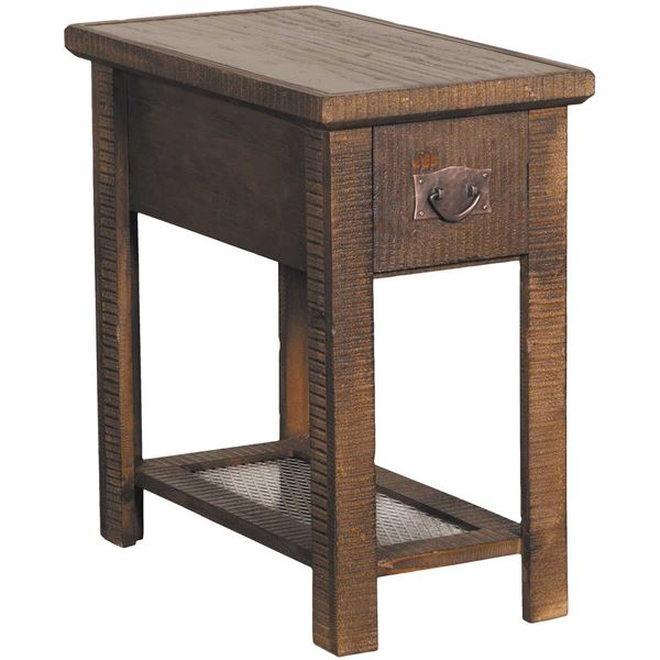 "Picture of 24"" Chairside Table, Brown"