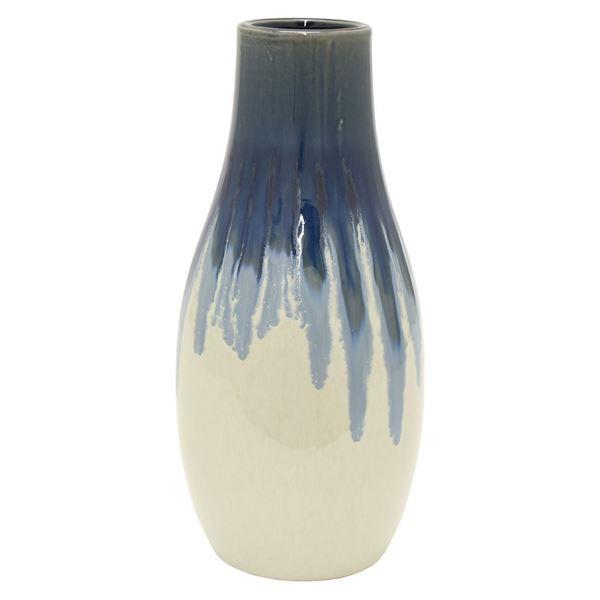 Picture of Blue Drip Ceramic Vase